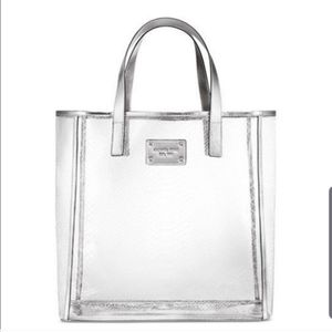 Michael Kors Clear Tote Gift Bag